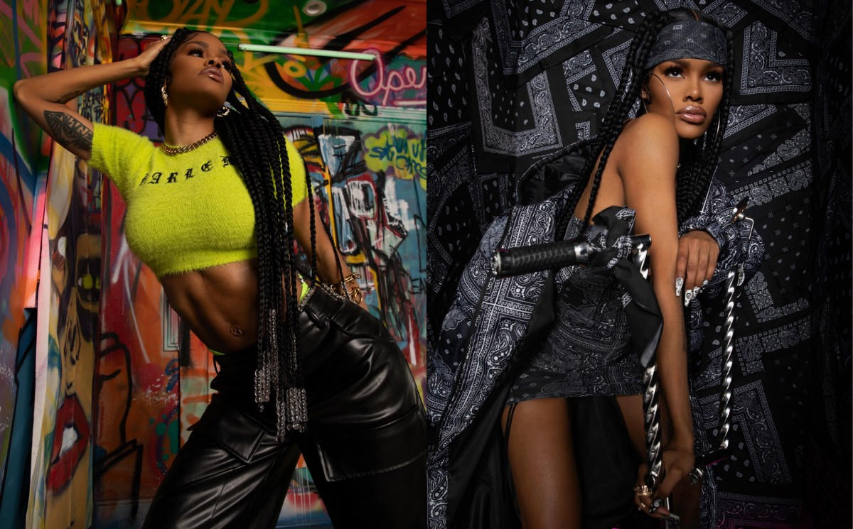 Teyana Taylor launches fashion collection with PrettyLittleThing