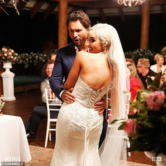 Ouch! Sam infamously fat-shamed Elizabeth on their wedding day, telling producers he had 'never dated anyone as big' as her in the past
