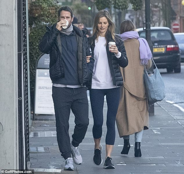 Moving on: Jamie is now dating Swedish model Frida Andersson-Lourie, which is thought to be his first confirmed relationship since his split from Louise