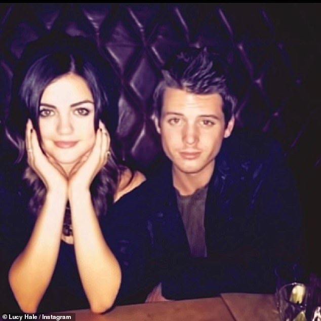 Forever friend: Hale said he was one of her first friends in Los Angeles when she started her career as a teen