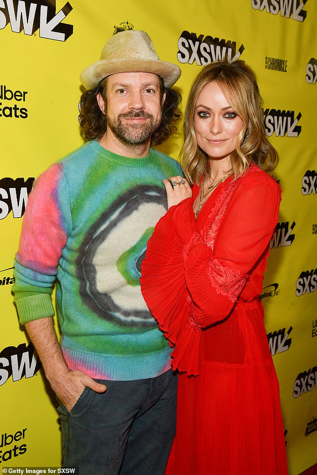 Splitsville:The romance marks mother-of-two Olivia's first public relationship since her split from fiancé Jason Sudeikis, 45, in early 2020 after nine years together (pictured in 2019)