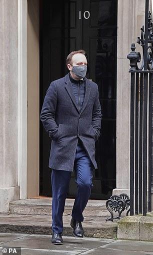 Health Secretary said Britain has ordered seven million doses of Moderna's jab