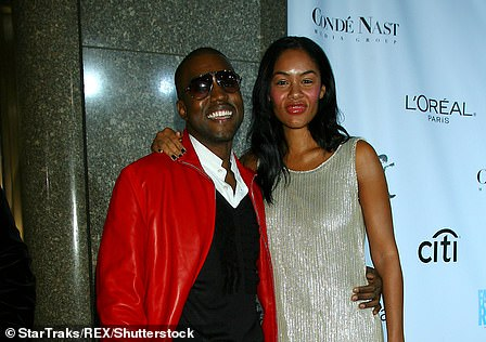 Romance: Brooke dated Kanye for two-and-a-half years after meeting backstage at a gig in 2004 (pictured 2006)