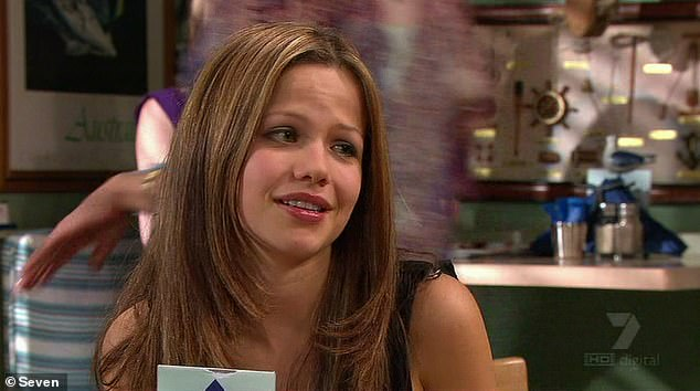 Shocking:Kane was involved in one of Home and Away's most controversial storylines. The character raped student Dani (Tammin Sursok) at her home in a scene that aired in 2001