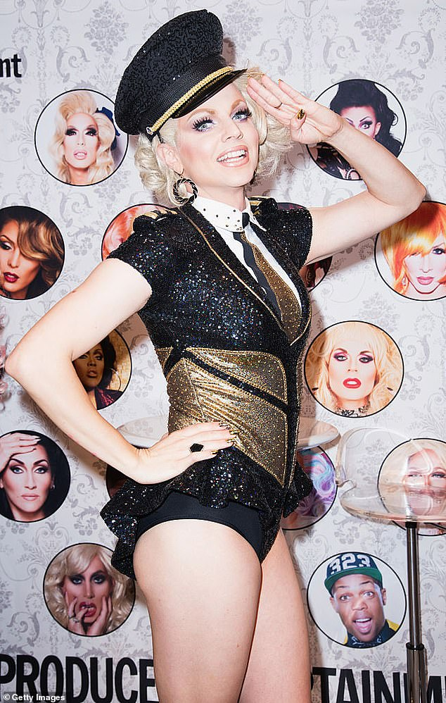 Hosting duties? Australia's most famous drag queen, Courtney Act, recently flew home from the UK, sparking rumours the notable RuPaul's Drag Race alum could be hosting the series