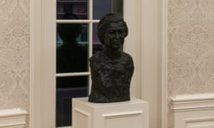 A bust of the civil rights leader Rosa Parks