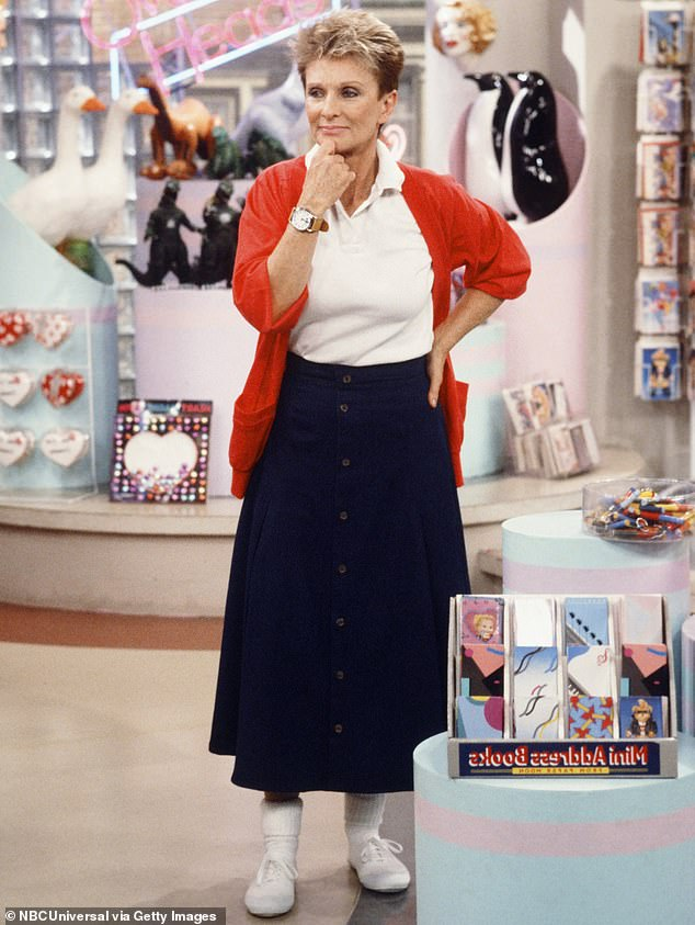 Showmanship:She recurred on such shows as The Facts Of Life (pictured) and The Love Boat and to act in movies such as The Beverly Hillbillies
