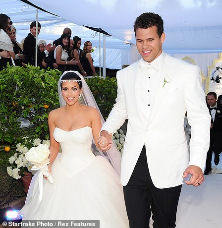 72 day marriage: In August 2011, Kim and Kris Humphries wed during a lavish, televised ceremony in Montecito, CA