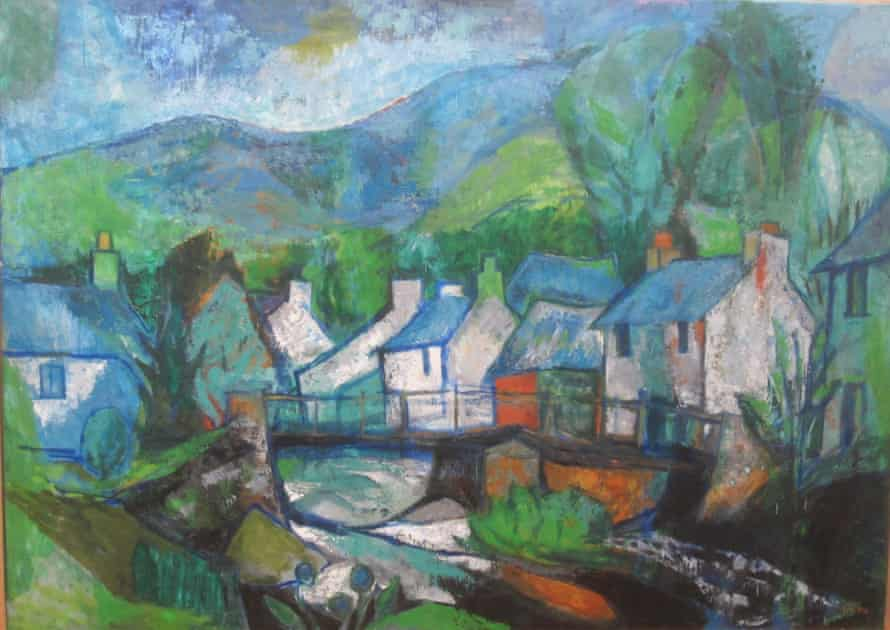 A painting by Phillida Nicholson