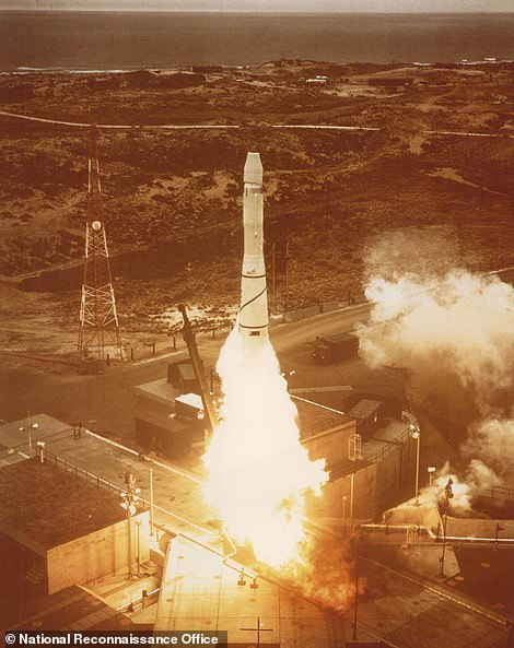 TheCorona program launch from the Vandenberg Air Force Base in California