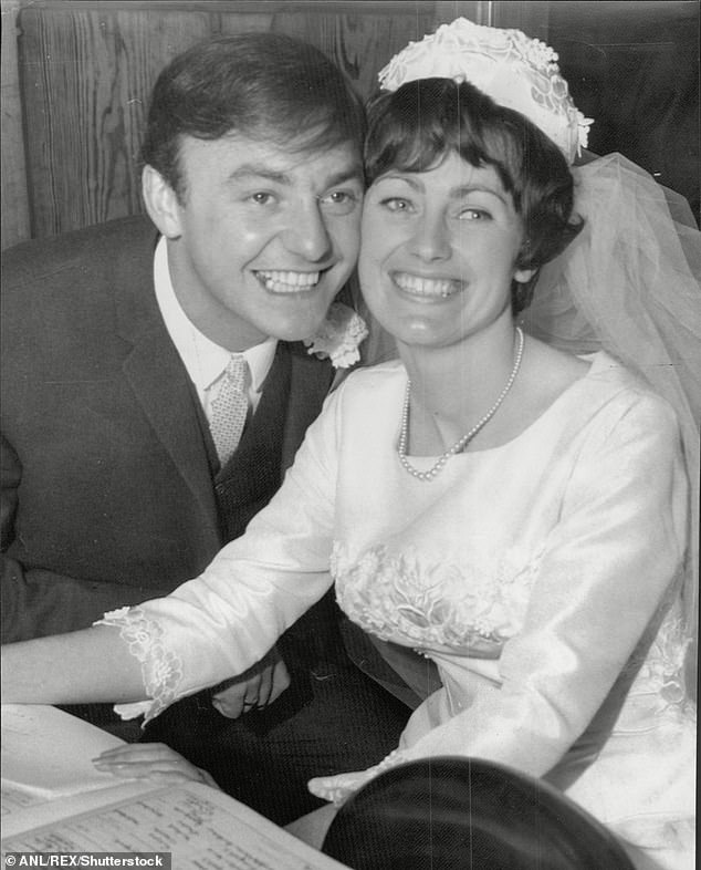 Long-term love: Gerry is survived by wife Pauline Marsden, whom he married in 1965
