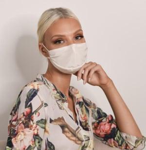 Natalie Begg silk face mask