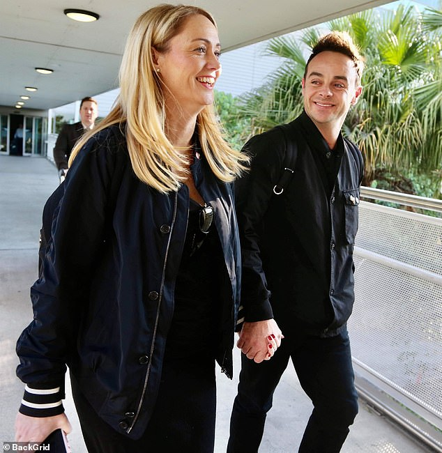 Congratulations! It was revealed on Friday that Ant had got engaged to girlfriend Anne-Marie Corbett after romantically popping the question on Christmas Eve (pictured in2019)