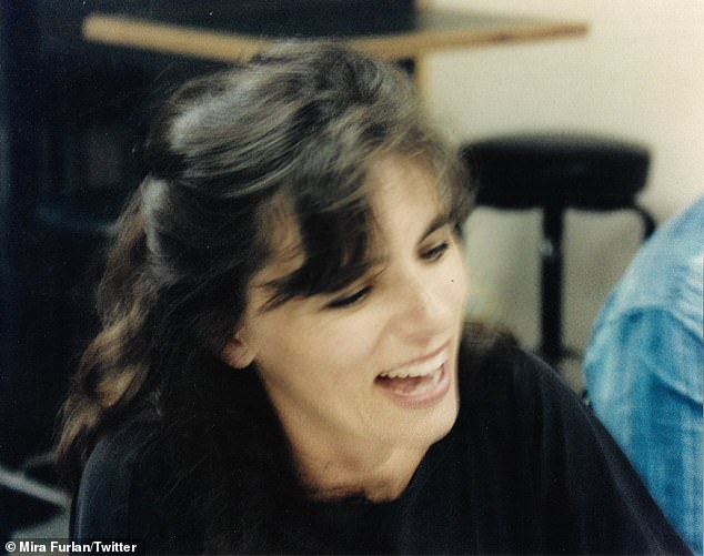 The death announcement was accompanied by this photo of Furlan. She is survived by her husband, the Serbian filmmaker Goran Gajić and and their son, Marko Lav Gajić