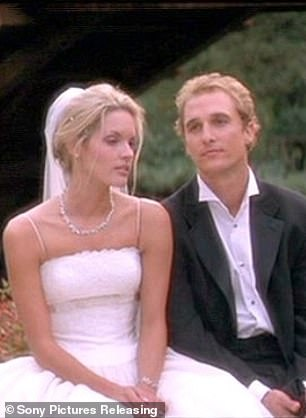Cheaters! Their deeply-flawed characters fall for each other despite Steve getting ready to marry Fran (L, Bridgette Wilson-Sampras)
