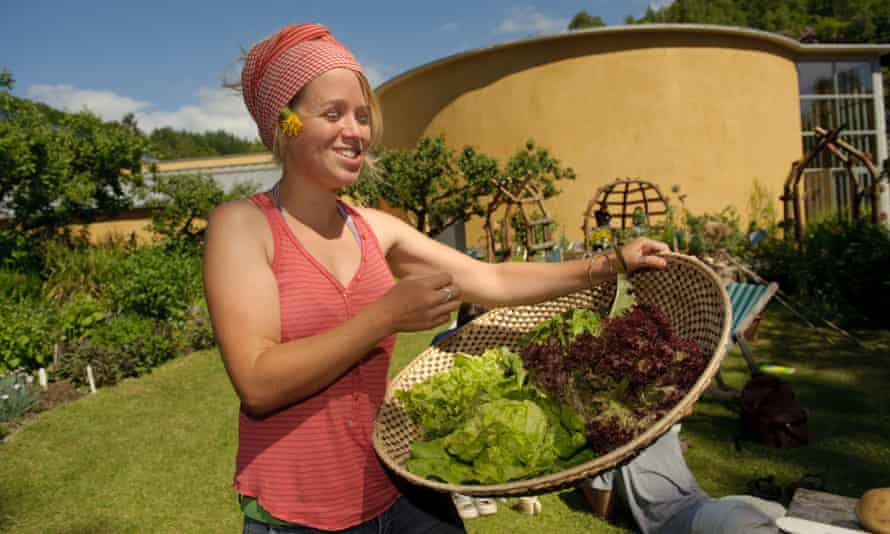 Organic horticulture lessons at the Centre for Alternative Technology