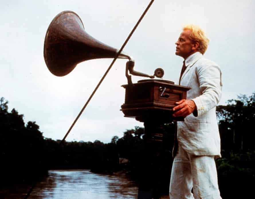 Klaus Kinski in a scene from Fitzcarraldo.