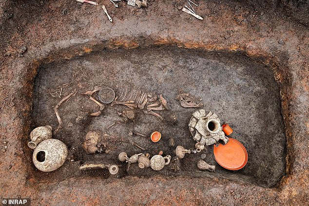 In Roman-era Gaul — modern-day France, Belgium and parts of western Germany — adults would have been cremated, but children were often buried on family estates
