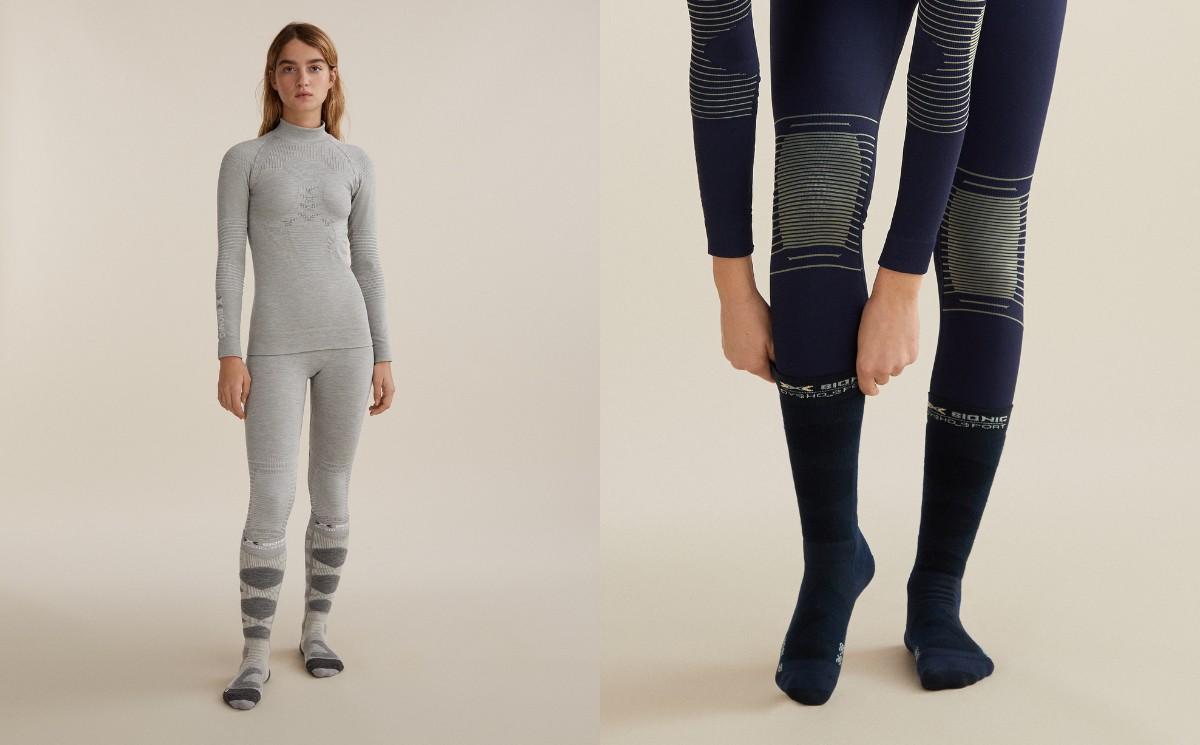 X-Bionic launches ski underwear with Oysho