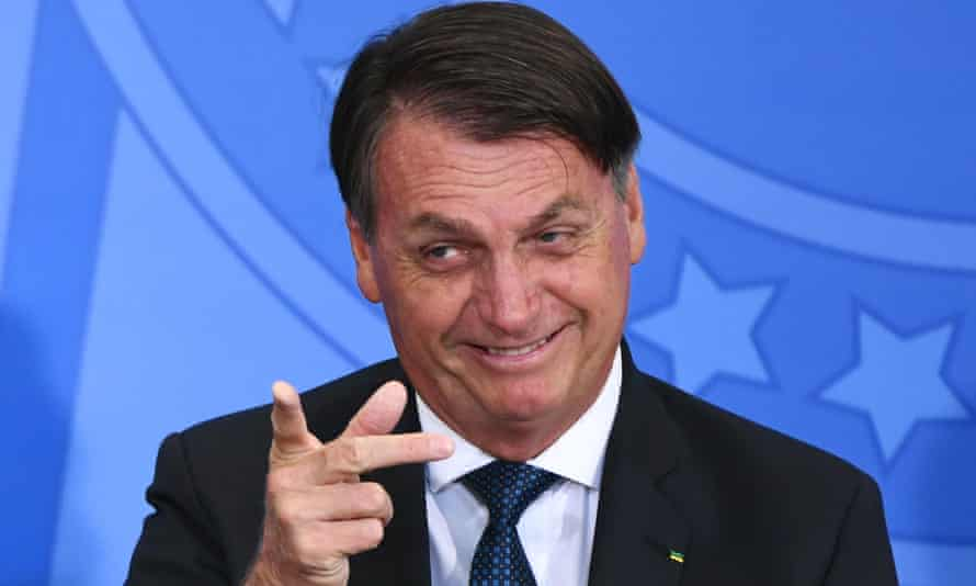 Jair Bolsonaro has so far avoided domestic criticism of his handling of the Covid crisis.
