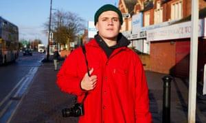 Eliot Riley, 24, in Longsight, Manchester