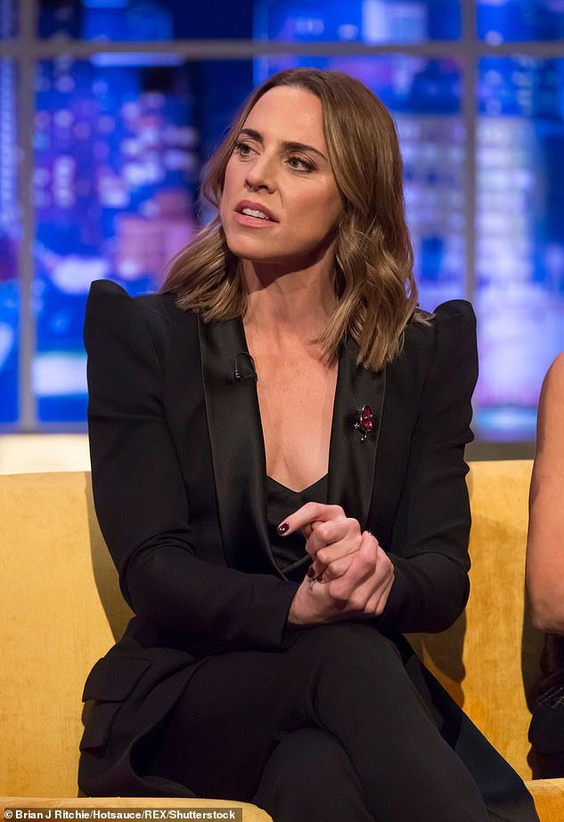 Candid:It comes after Mel C candidly reflected on her battle with depression, stressing the importance of reaching out to loved ones for help (pictured in 2018)