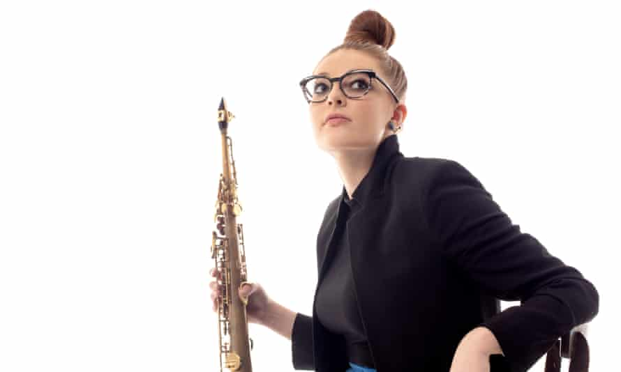 Young star saxophonist Jess Gillam performs in the the Hallé season, Manchester.
