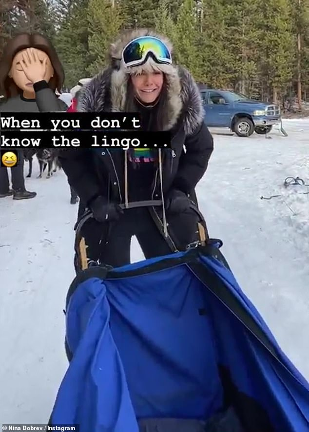 Sharing the fun: Dobrev has been joined on her vacation by Olympian Shaun White, whom she has been in a relationship with for about a year