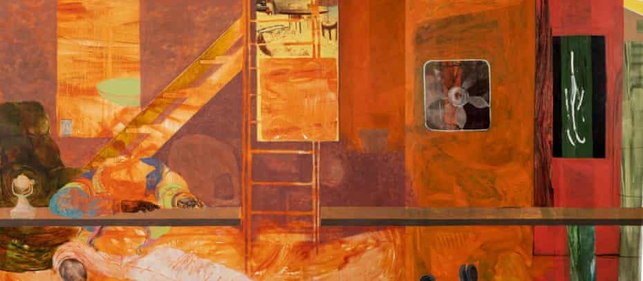 Fire Next Time, 2012, by Jennifer Packer.