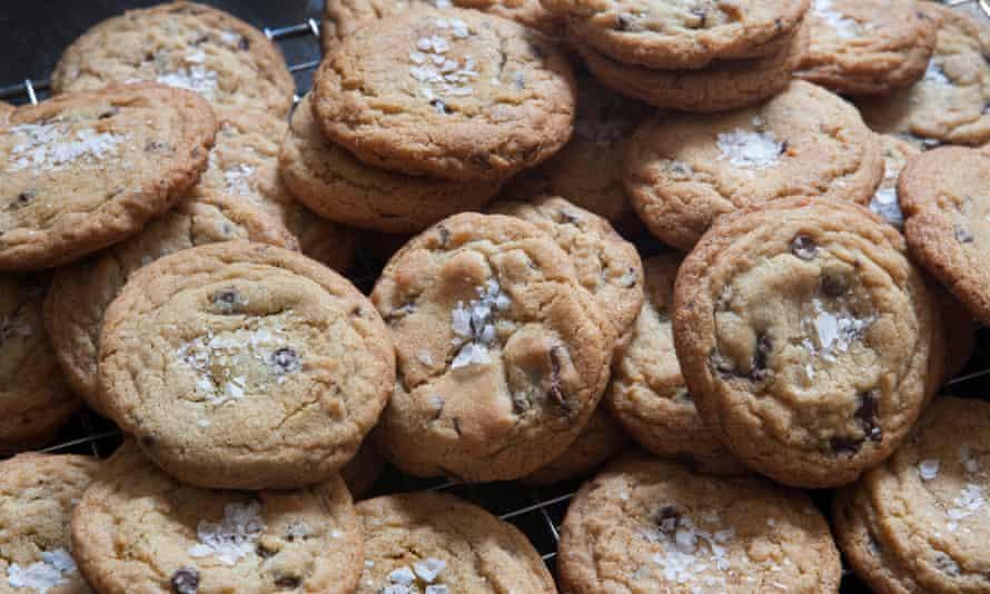 Something sweet ... homemade cookies.