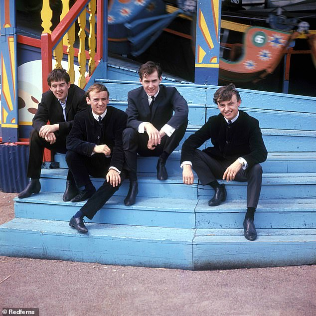 Swinging sixties: Gerry also had success with hits including I Like It, How Do You Do It, and Ferry Across The Mersey [pictured in 1960]