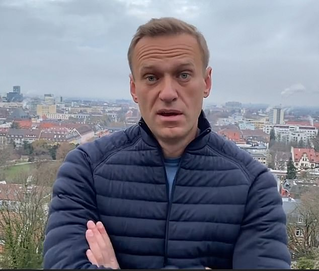 The 44-year-old politician was recently poisoned with chemical nerve agent Novichok and has been jailed in Russia