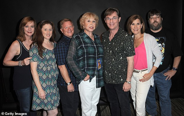 Getting back together: The cast of the program reunited for a number of television movies after the show's cancellation; various cast members are seen together in 2015