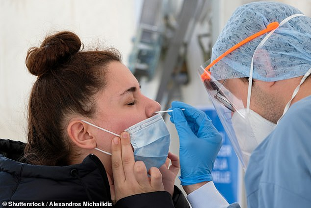 The researchers specifically focused on how many of the 1,038 hospital staff who had been infected previously went on to develop symptoms and test positive during the autumn second wave, defined as being between July 7 to November 20. Only 128 such people reported developing coronavirus-like symptoms in this window but zero tested positive for Covid-19