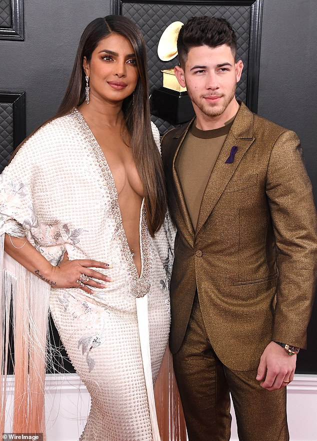 The attraction: 'He was bold, confident, self-assured,' Chopra said of her first meeting with the Jonas Brothers star at the Vanity Fair Oscars afterparty in 2017