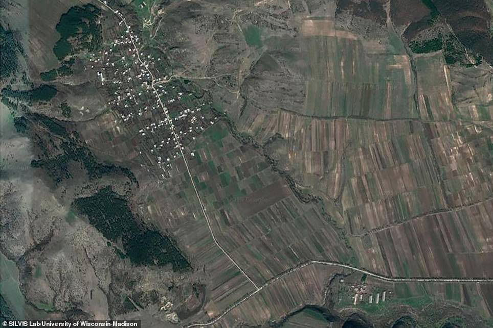 Today, the same village has expanded its farmland