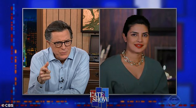 Believe it or not:'It's great because we still like each other. That's important,' Priyanka told The Late Show With Stephen Colbert about their time together in quarantine