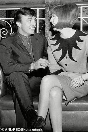 Friends:Gerry was friends with fellow Liverpudlian icon Cilla Black. They are pictured in 1964