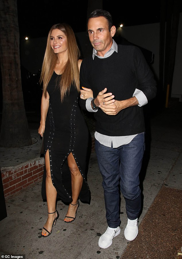 A great team: Menounos and husband Keven Undergaro are seen in Los Angeles in 2018