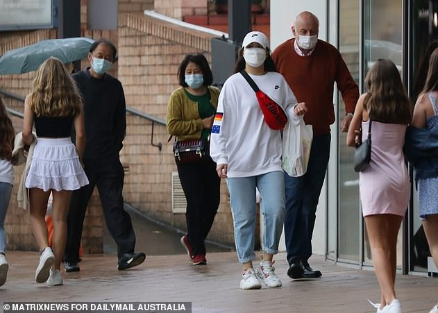 Advice:Health minister Brad Hazzard urged residents to wear a mask to keep themselves and the community safe