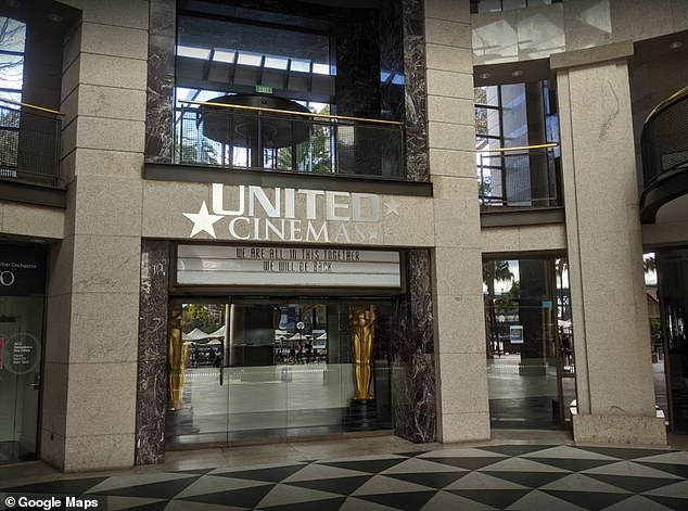 Details: The deal is worth more than $50million - and will employ 500 staff and see movie-themed restaurants open in 15 locations inside or next to United Cinemas chains