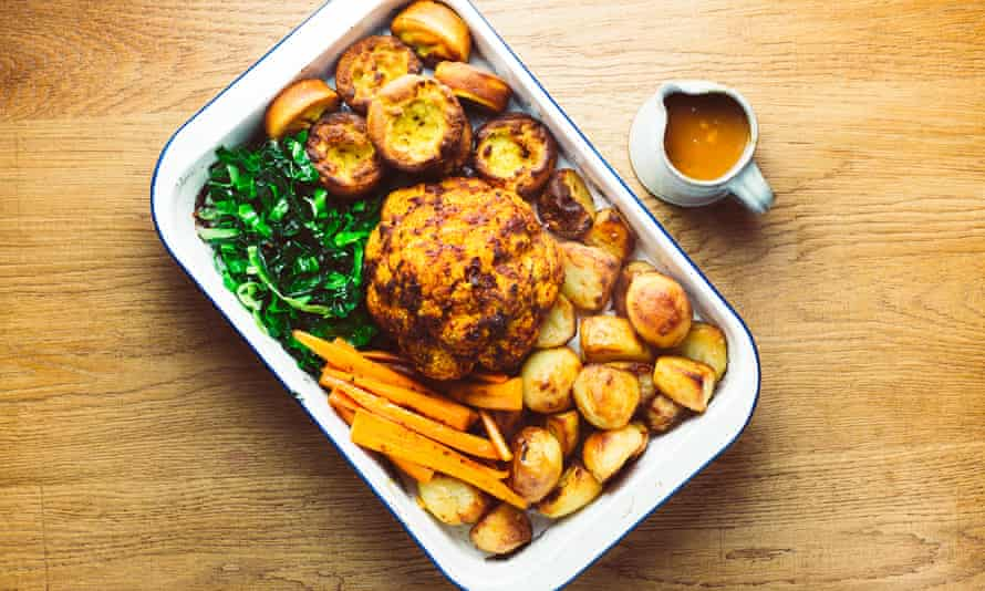 Lowly Food's vegan Sunday roast.