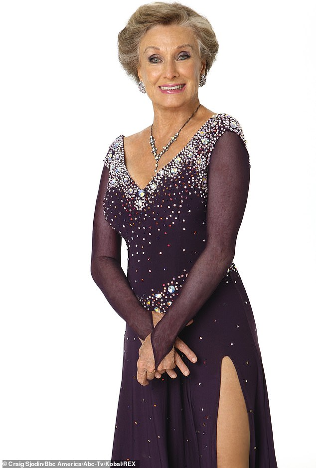 'I loved it':Then in 2008 at the age of 82 she became the oldest ever contestant on Dancing With The Stars where she was teamed with ballroom dancer Corky Ballas