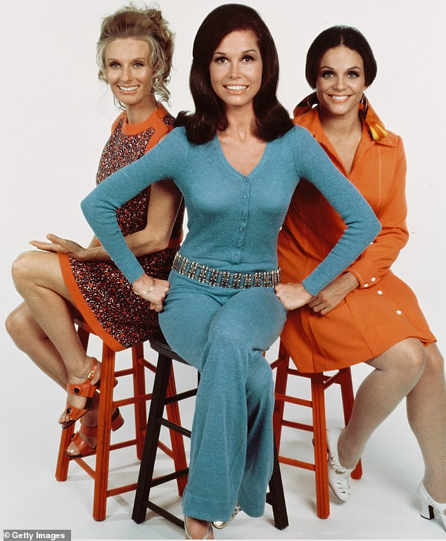 Acclaimed: Cloris is tied with Julia-Louis Dreyfus for most acting Emmys of all time; she won two of them for The Mary Tyler Moore Show (pictured)