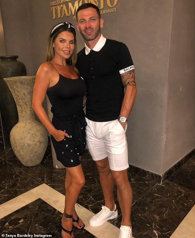 Couple: Tanya is married to former Manchester United footballer Phil Bardsley