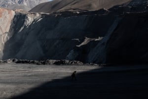 Ali Tashbekov in Kyrk-Bulak coal mine.