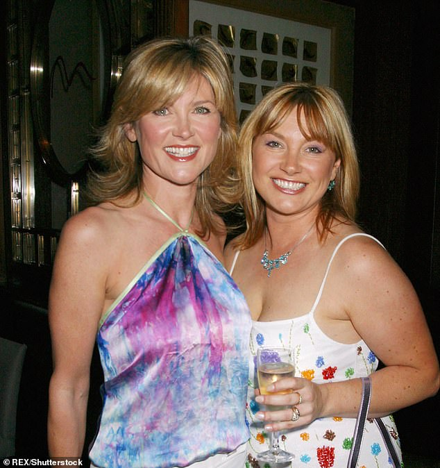 Her depression, however, which first hit during childhood, has only lately been eased by psychotherapy, after years of relying on medication. In those intervening years, there have been periods when 53-year-old Wendy, younger sister of TV presenter Anthea Turner, has felt so overwhelmed that she's contemplated taking her own life. The pair are pictured together above