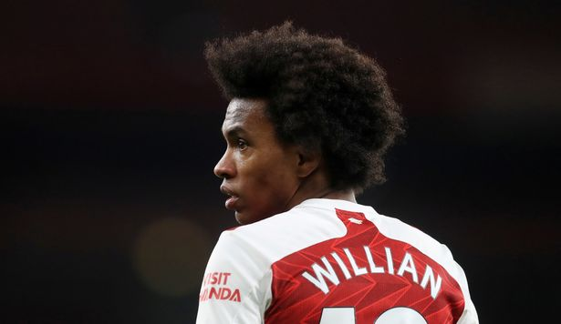 Willian claimed he joined Arsenal to win the Champions League before he left, though former club Chelsea have won it first