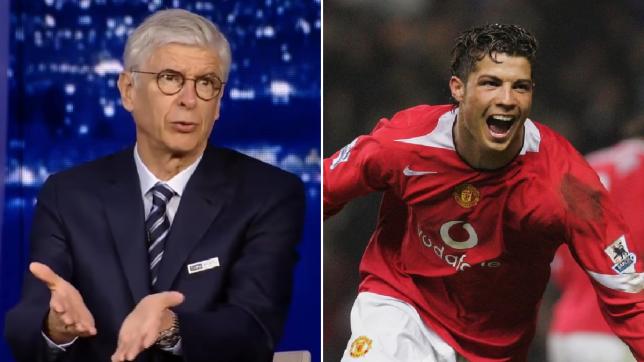 Arsene Wenger reveals how Manchester United nabbed Cristiano Ronaldo ahead of Arsenal