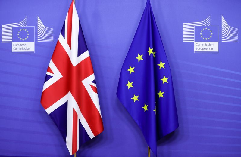 Britain, EU edge forward with financial services forum plan